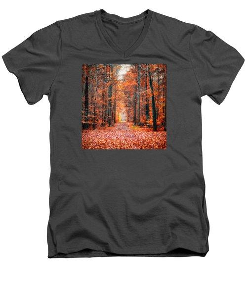 Thetford Forest Men's V-Neck T-Shirt