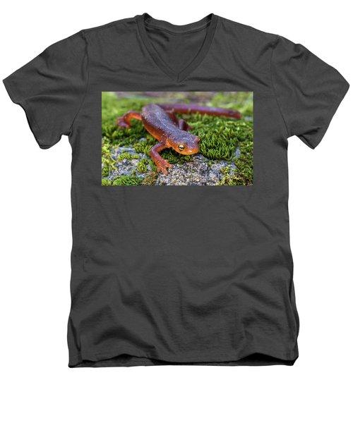 They Do Exist Men's V-Neck T-Shirt by Scott Warner