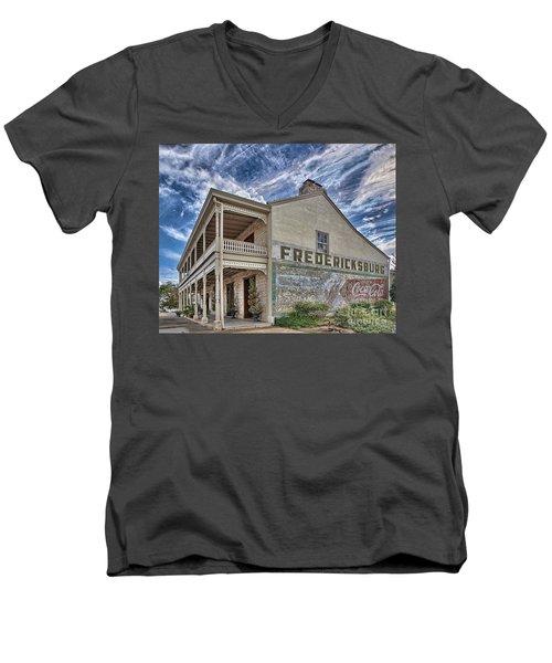 Things Go Better... Men's V-Neck T-Shirt