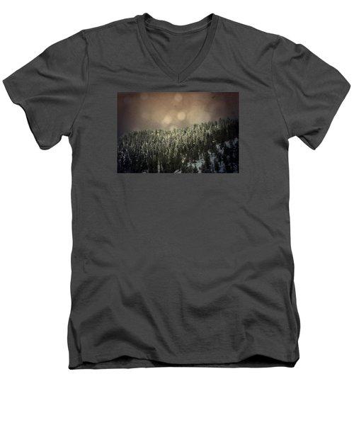 Third Breath  Men's V-Neck T-Shirt by Mark Ross
