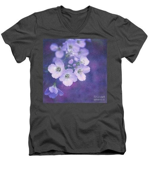 This Enchanted Evening Men's V-Neck T-Shirt by Lyn Randle