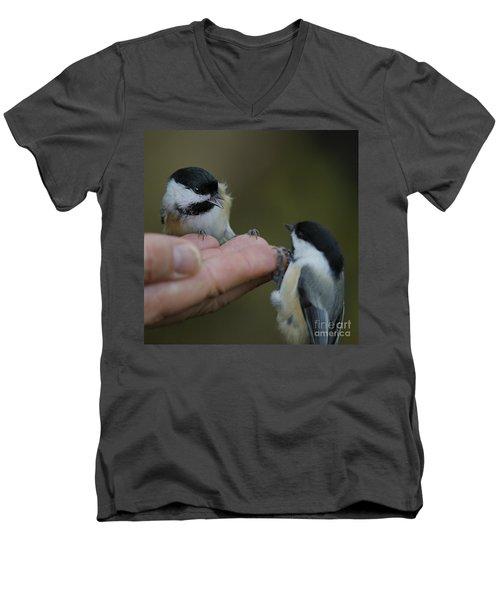This Hand Is Mine Men's V-Neck T-Shirt