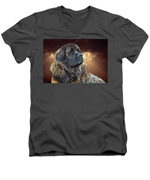 This Is Grizz Men's V-Neck T-Shirt