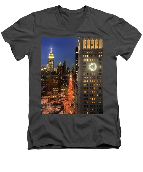 This Is My City Men's V-Neck T-Shirt