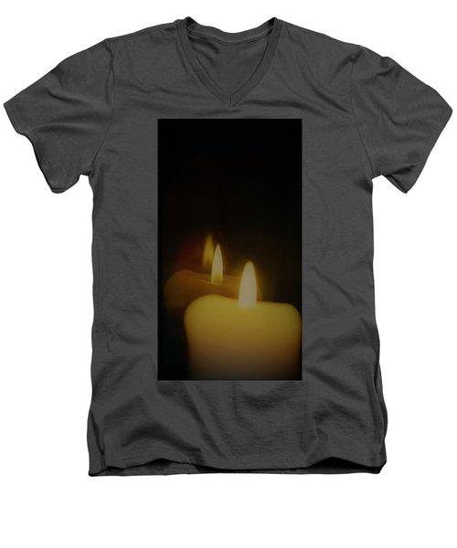 This Little Light Of Mine Men's V-Neck T-Shirt by John Glass