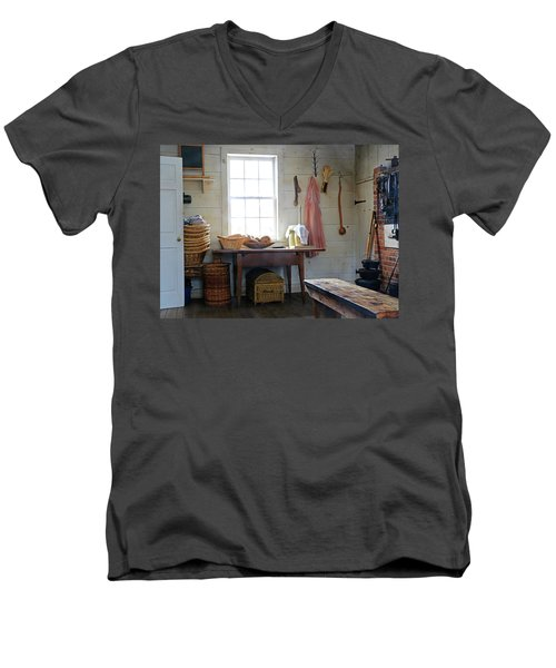 This 'ol Kitchen Men's V-Neck T-Shirt by Christopher McKenzie