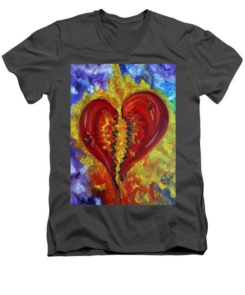 This Old Heart Of Mine Men's V-Neck T-Shirt