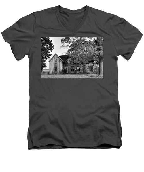 This Old House 2 Men's V-Neck T-Shirt by Gary Hall