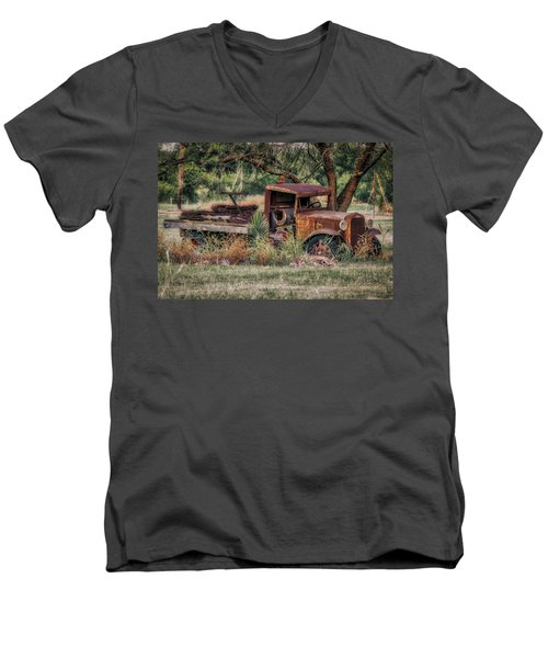 This Old Truck Men's V-Neck T-Shirt