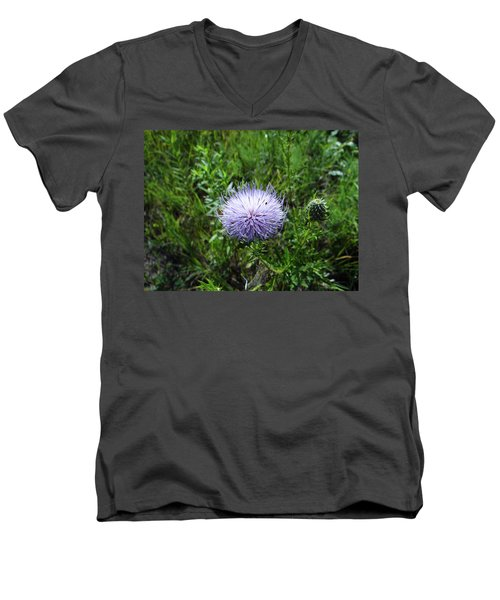 Thistle 2 Men's V-Neck T-Shirt