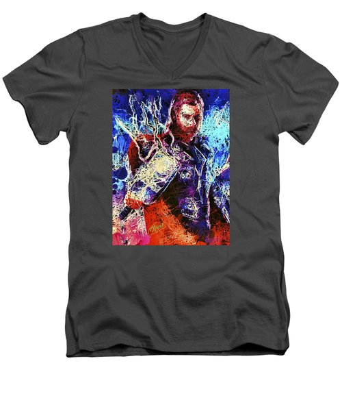 Thor Charged Up Men's V-Neck T-Shirt