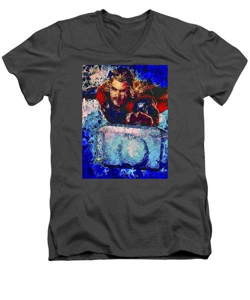 Thor's Hammer Men's V-Neck T-Shirt