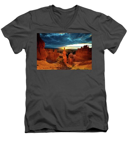 Thor's Hammer Men's V-Neck T-Shirt