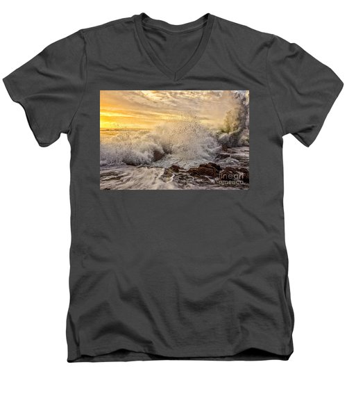 Thor's Wave Men's V-Neck T-Shirt