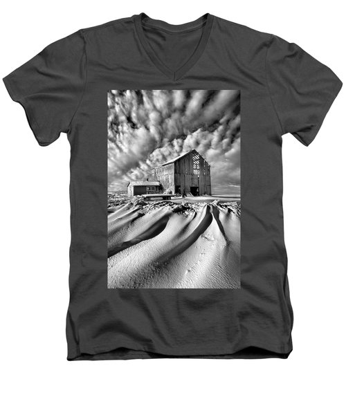 Men's V-Neck T-Shirt featuring the photograph Those Were The Days by Phil Koch