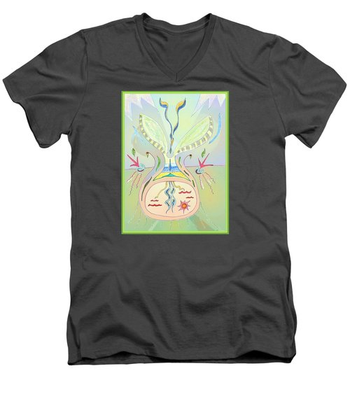 Thought Seed Men's V-Neck T-Shirt
