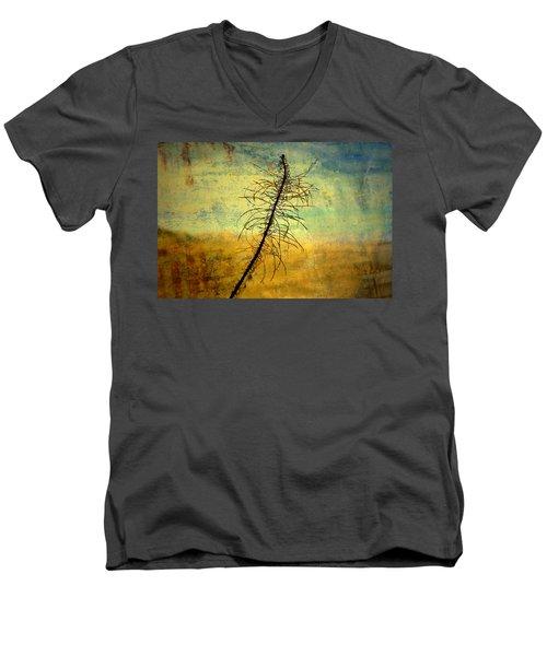 Thoughts So Often Men's V-Neck T-Shirt by Mark Ross