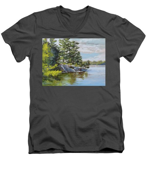 Thousand Islands Men's V-Neck T-Shirt