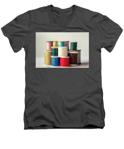 Thread #1 Men's V-Neck T-Shirt