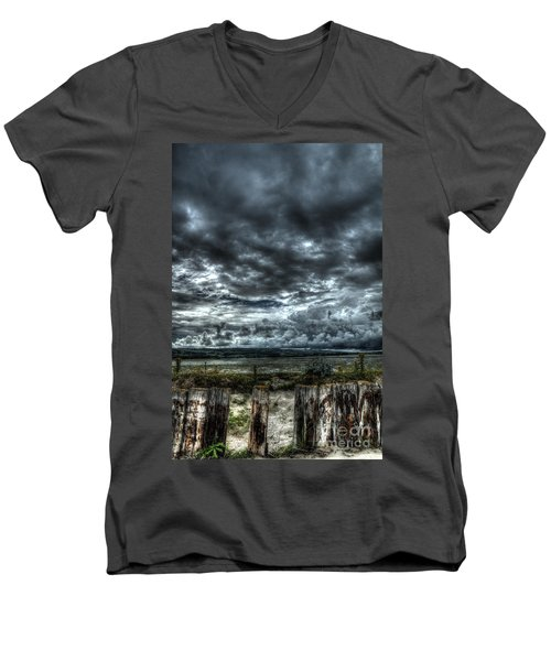 Threatening Sky Men's V-Neck T-Shirt