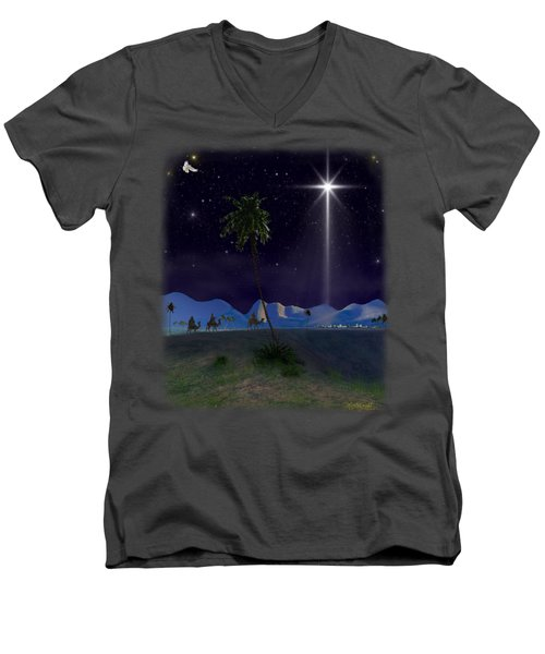 Three Kings Men's V-Neck T-Shirt