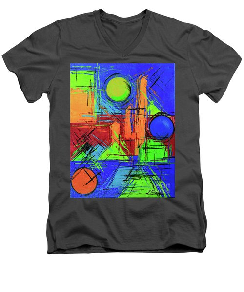 Three Moons Men's V-Neck T-Shirt