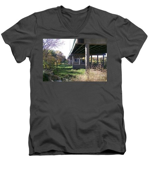 Three Pathways Men's V-Neck T-Shirt