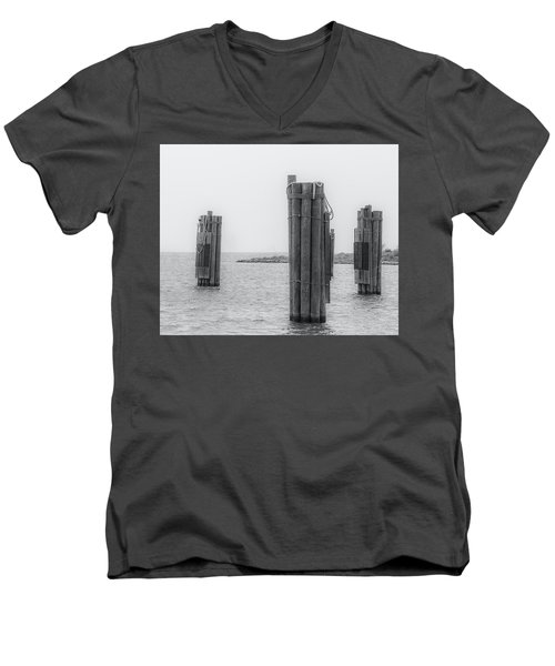 Three Pillars Men's V-Neck T-Shirt