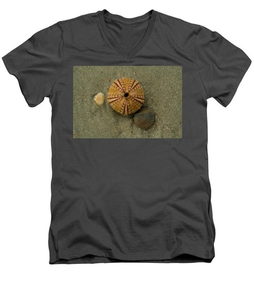 Three Shell Study Men's V-Neck T-Shirt