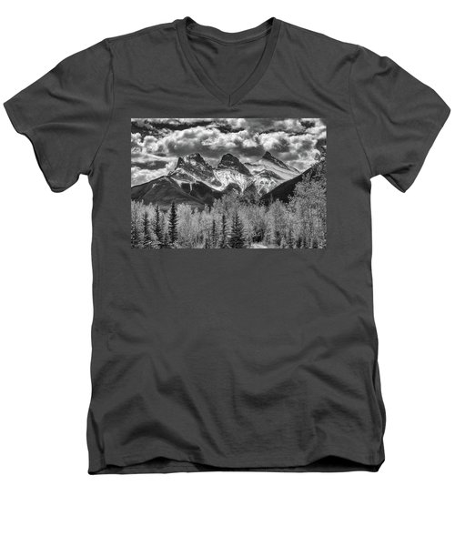 Three Sisters Men's V-Neck T-Shirt