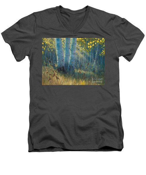 Three Sisters - Spirit Of The Forest Men's V-Neck T-Shirt