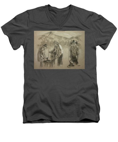 Three Smiths Men's V-Neck T-Shirt