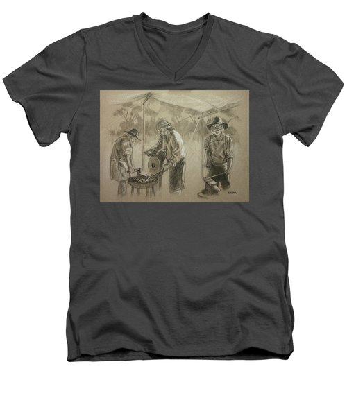 Three Smiths Men's V-Neck T-Shirt