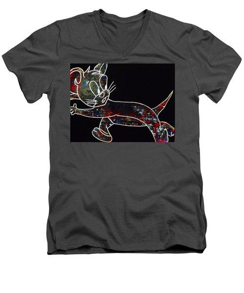 Thriller Men's V-Neck T-Shirt