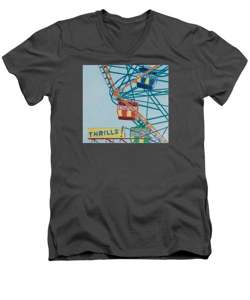 Thrills Men's V-Neck T-Shirt