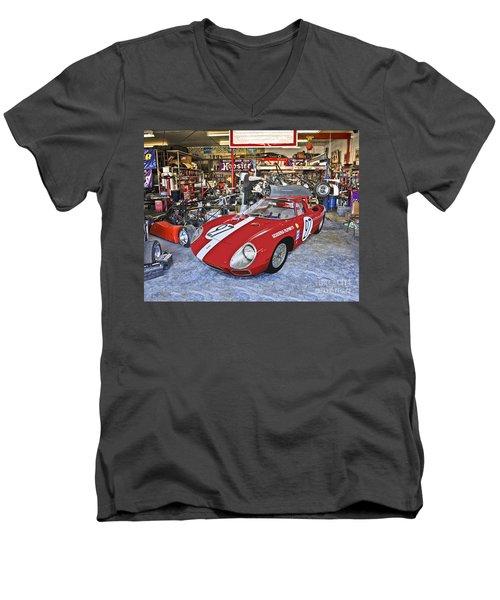 Throphy Car Men's V-Neck T-Shirt
