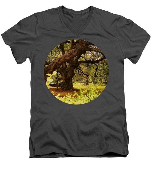 Through The Ages Men's V-Neck T-Shirt