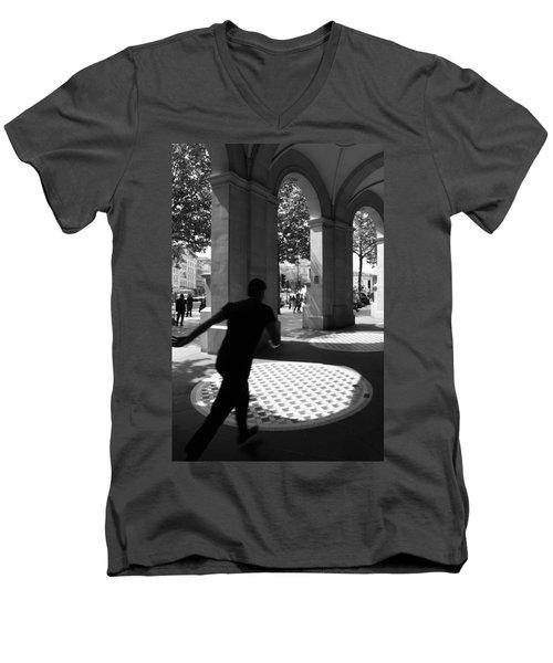 Through The Arches Men's V-Neck T-Shirt