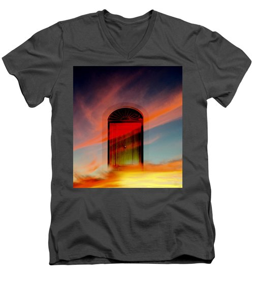 Through The Door Men's V-Neck T-Shirt
