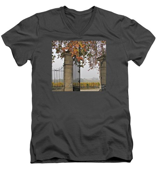 Through The Gates Men's V-Neck T-Shirt