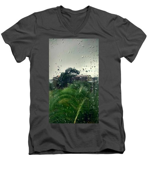 Through The Looking Glass Men's V-Neck T-Shirt by Persephone Artworks
