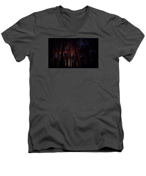 Thru The Dark Men's V-Neck T-Shirt
