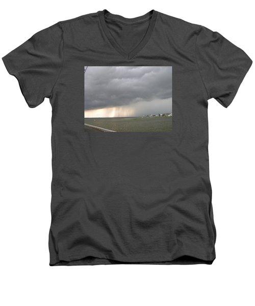 Thunder On The Bay Men's V-Neck T-Shirt