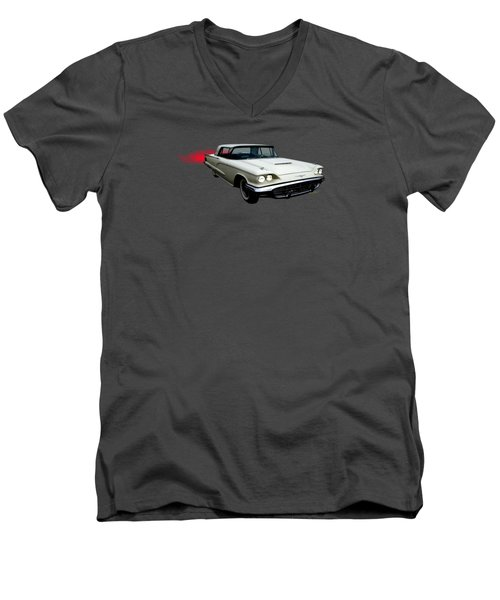 Thunderbird In The Sky Men's V-Neck T-Shirt