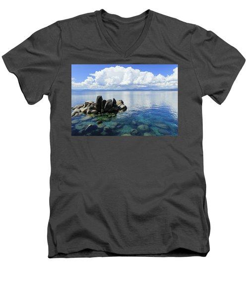 Thunderclouds Men's V-Neck T-Shirt