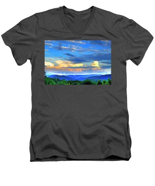 Thunderheads Men's V-Neck T-Shirt
