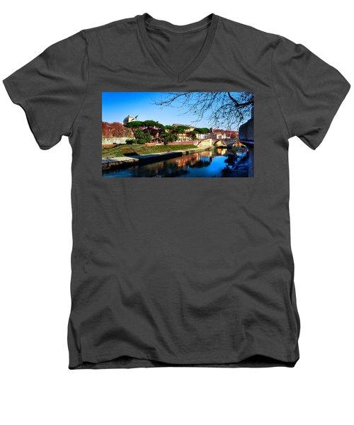 Tiber Island Men's V-Neck T-Shirt