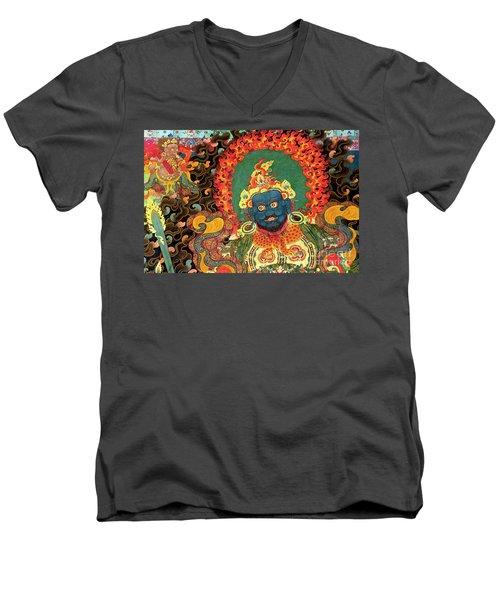 Tibet_163-7 Men's V-Neck T-Shirt