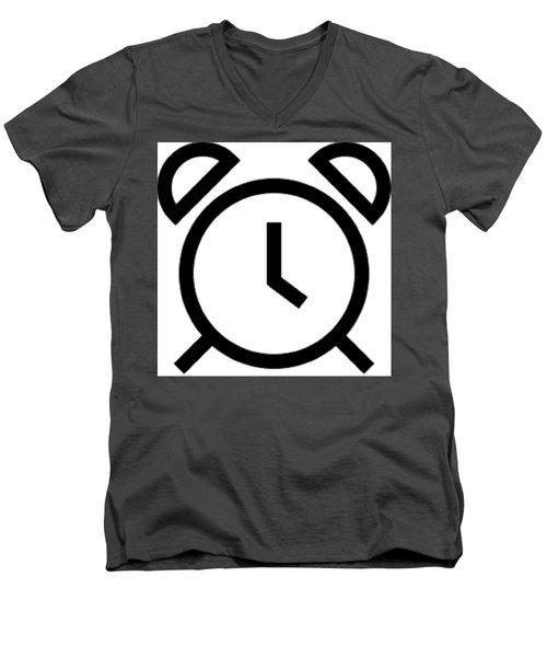 Tick Talk Men's V-Neck T-Shirt by Now