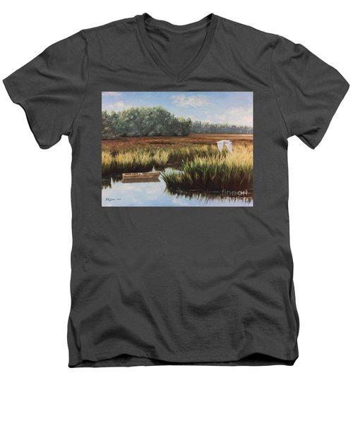 Tidal Creek Men's V-Neck T-Shirt